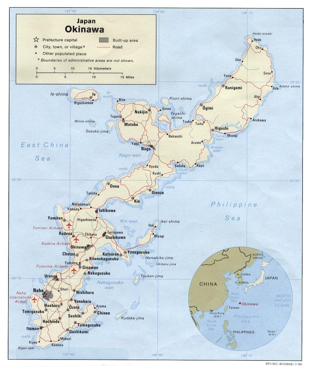Maps of Japan, including several of Okinawa | OKI ...