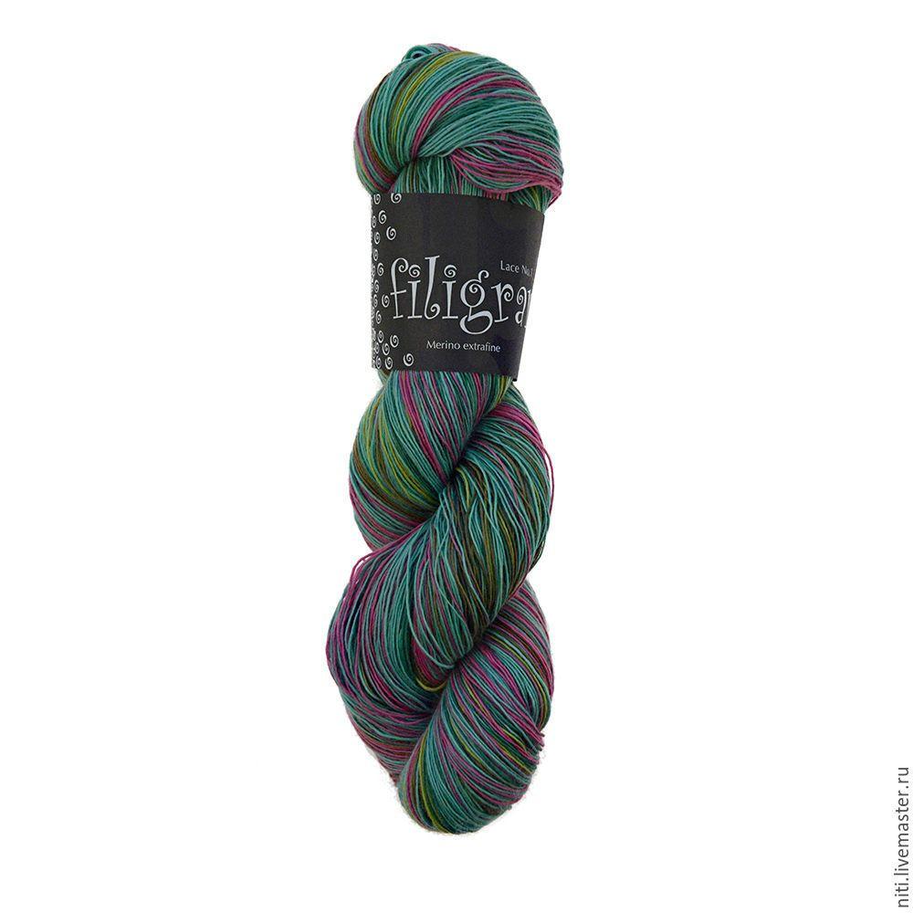 купить тонкая 100 мериносовая шерсть Filigran от Atelier Zitron