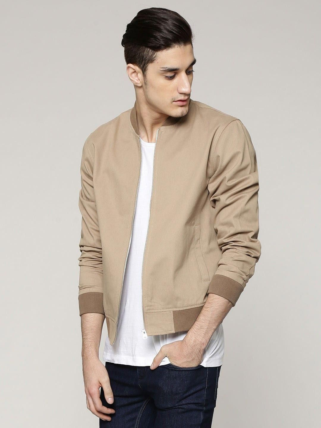 Buy New Look Cotton Twill Bomber Jacket For Men Men S Brown Bomber Jackets Mensfashionstyle Bomber Jacket Outfit Bomber Jacket Men Brown Bomber Jacket [ jpg ]