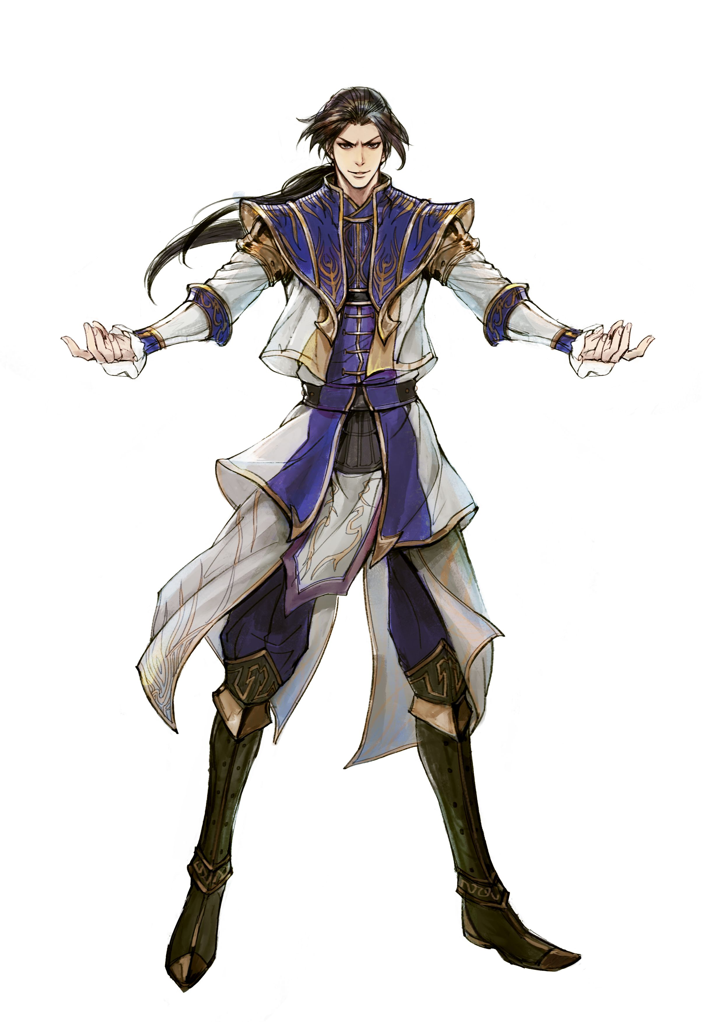 Samurai Anime Characters : Dynasty warriors cao pi wo dw sb pinterest