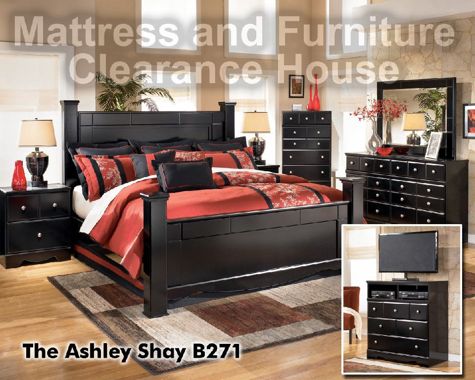 Bedroom Sets That Include Mattresses $760.82 signature design shay queen poster bedroom suite. all sets