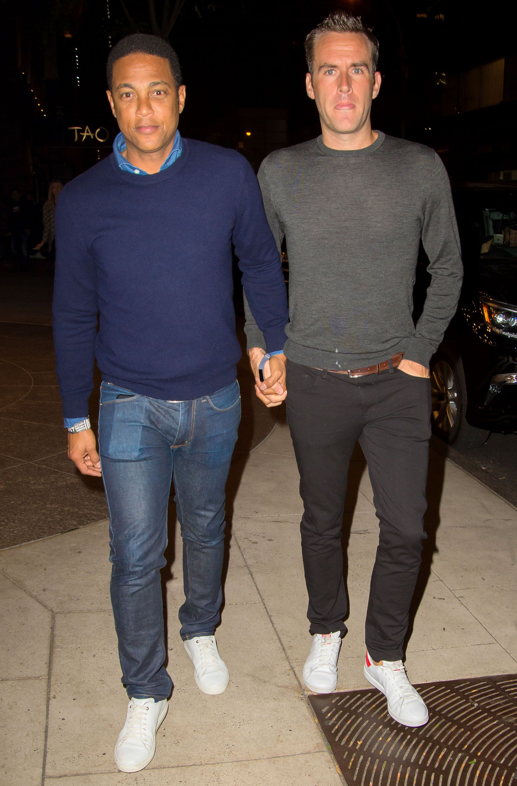 Don Lemon Leaves Snl Afterparty Walking Hand In Hand With Boyfriend