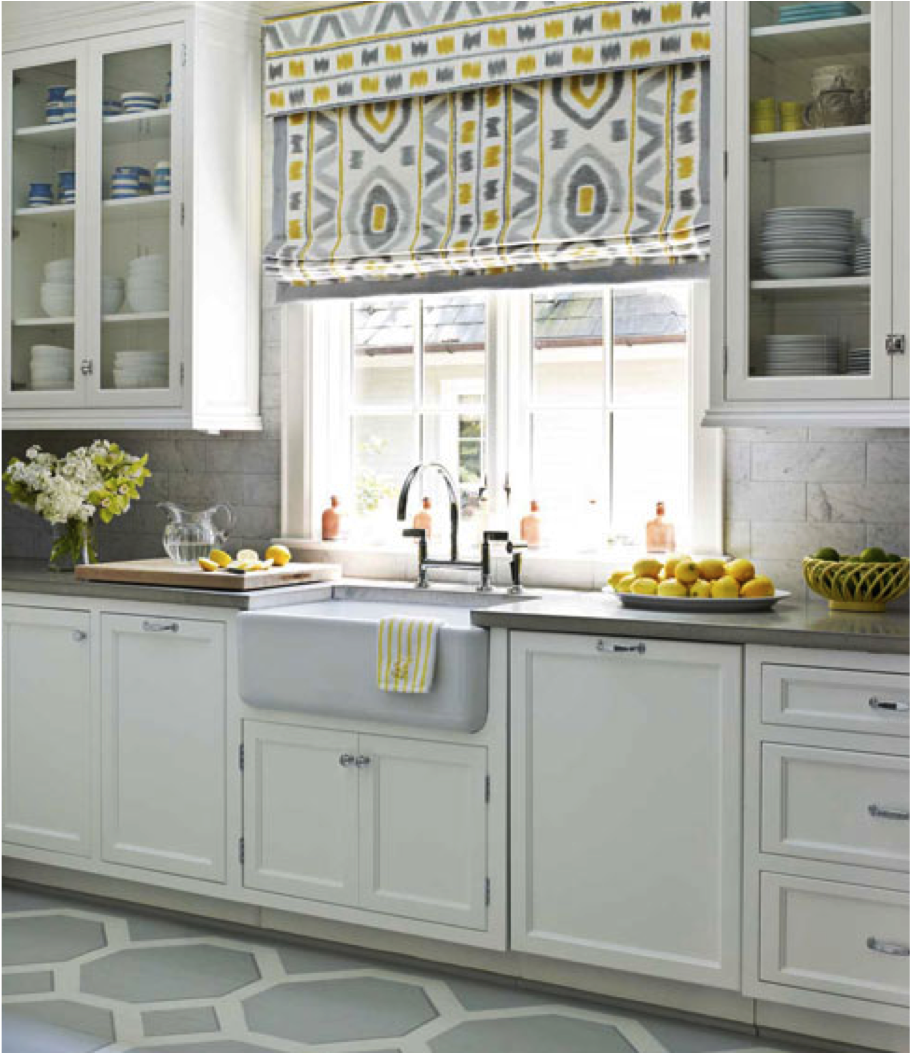 white kitchen with grey yellow kitchen flooring classic white kitchen kitchen colors on kitchen ideas yellow and grey id=56146