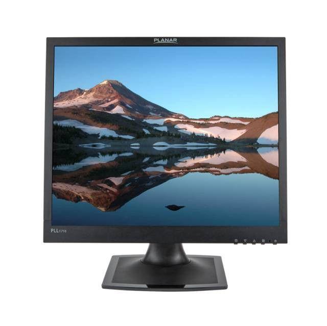 Planar PLL1710 17 inch 1,000:1 5ms VGA/DVI LED LCD Monitor (Black)