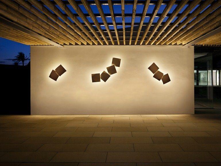 Origami applique per esterno luci pinterest illuminazione