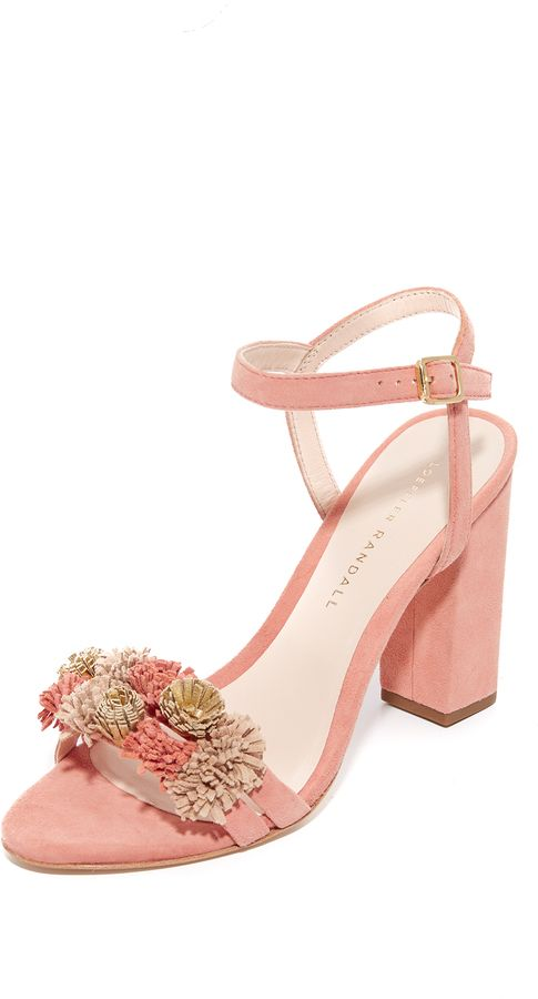 Layla heeled sandals - Pink & Purple Loeffler Randall