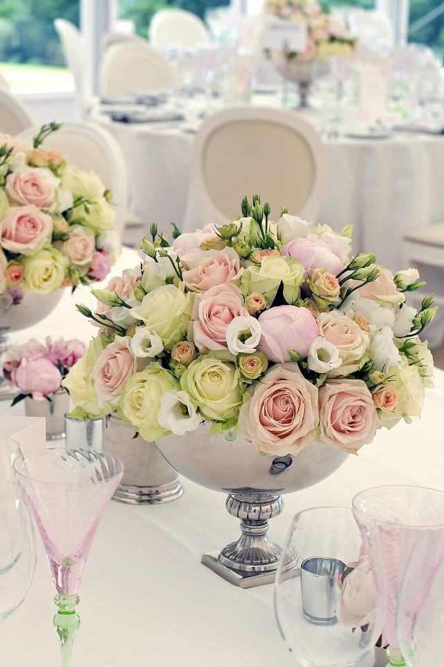 what do you think of this combination of small and large roses for a bouquet?