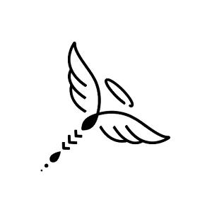 Halo Tattoo - Semi-Permanent Tattoos by inkbox™