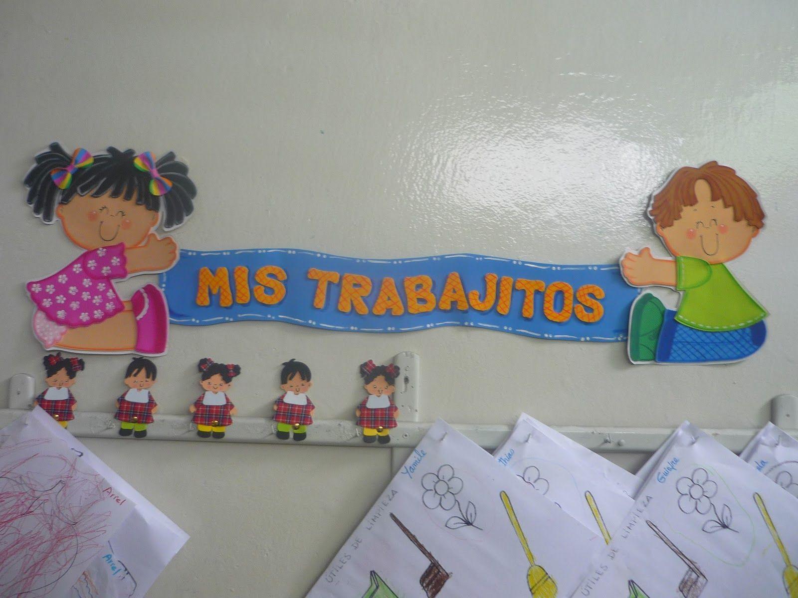 Nuestra sala de preescolar carteles para ambientar el for Actividades para el salon de clases