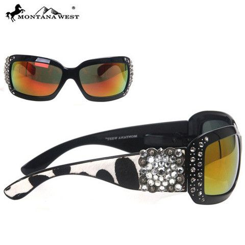 SUNGLASS - BK/CL (FMSGS-2406CL)  See more at http://www.montanawest.ca/collections/sunglasses