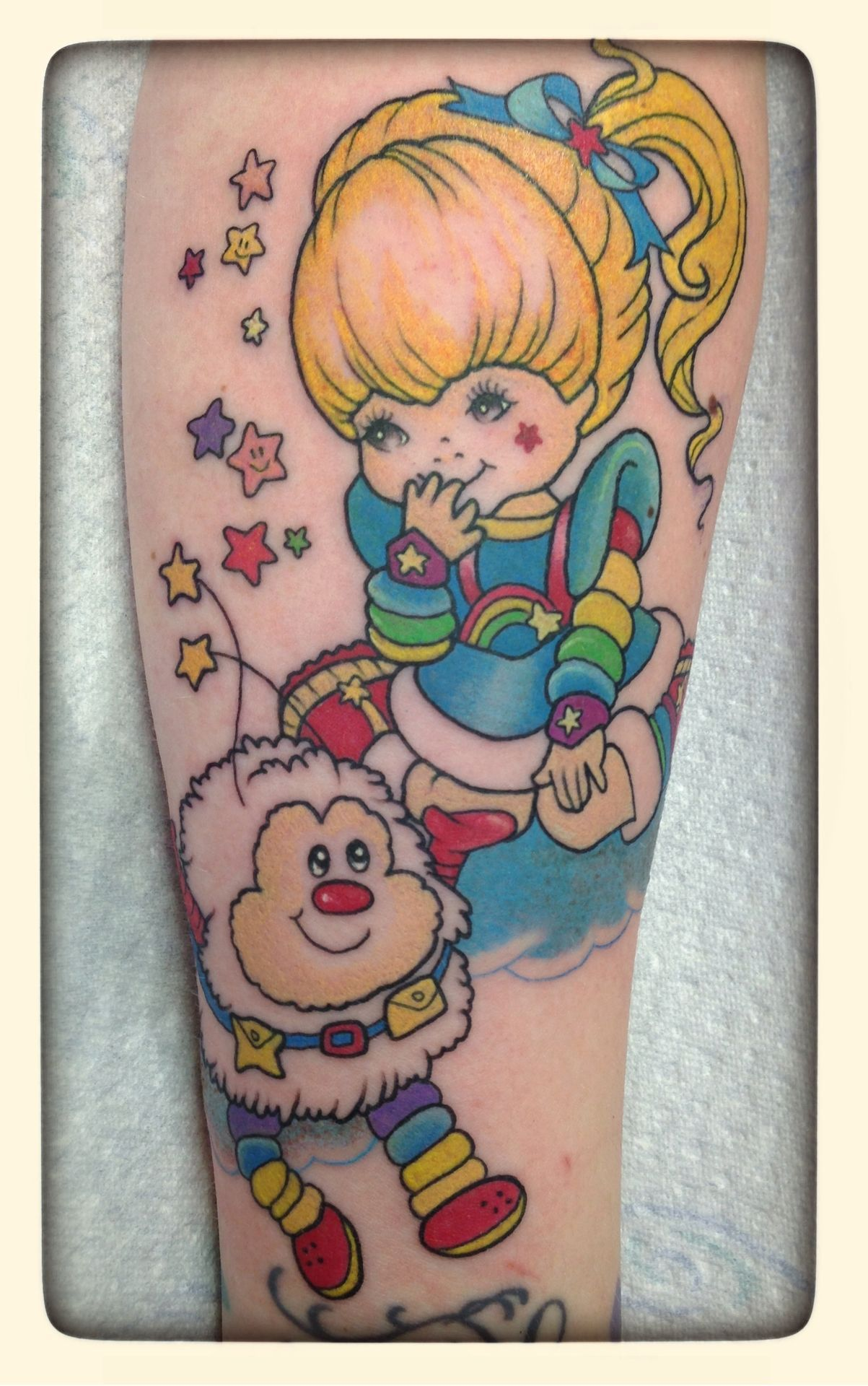 Rainbow Brite Tattos That You Will Always Love Rainbow Brite Than With A T Rainbow Brite Tattos Th In 2020 Bright Tattoos Kawaii Tattoo Rainbow Tattoos