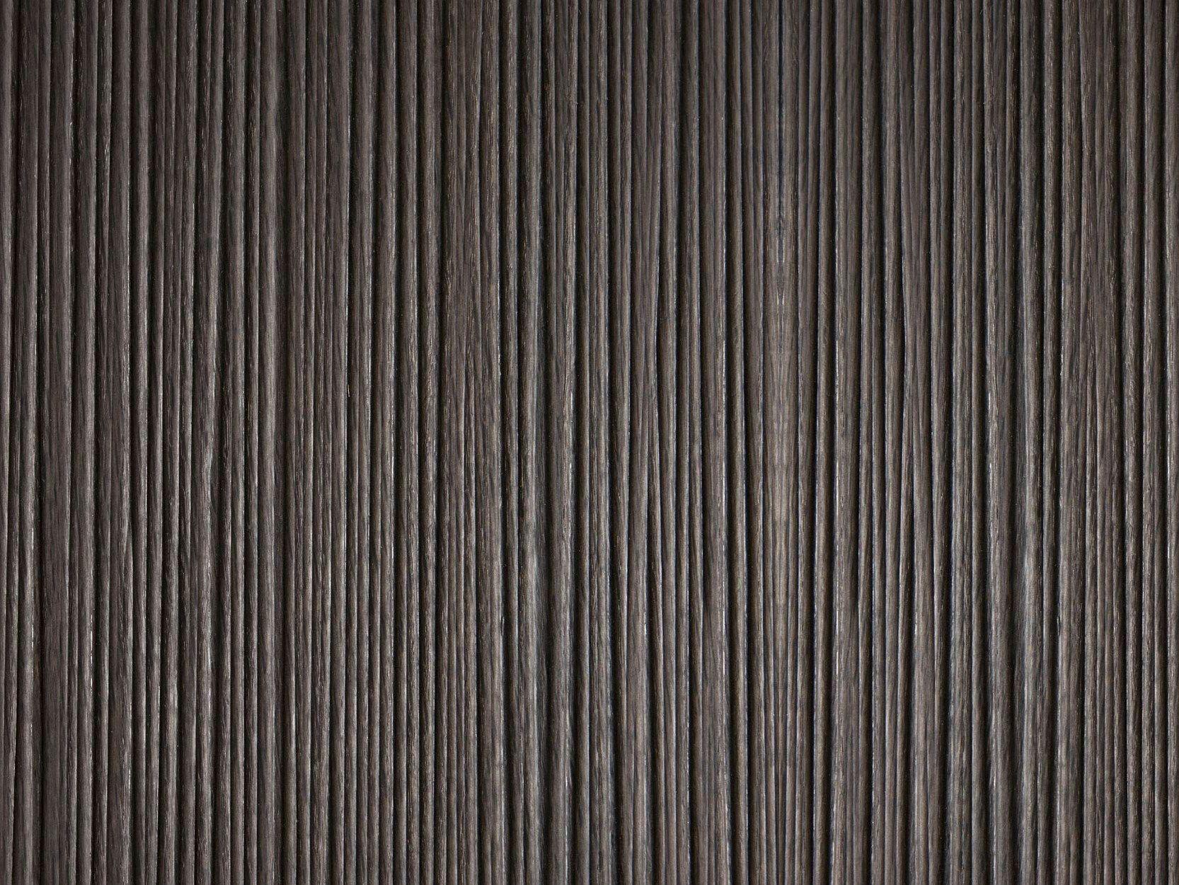 Panel de pared 3D de chapada en madera FARA by Marotte®
