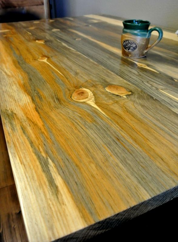 Beetle Kill Pine Table From Sustainable Lumber Co Beetle Kill Pine Pine Table Farm Style Table