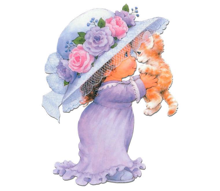 Girl With Hat Te Esperamos Bebe Sombreros De Ninas Manualidades
