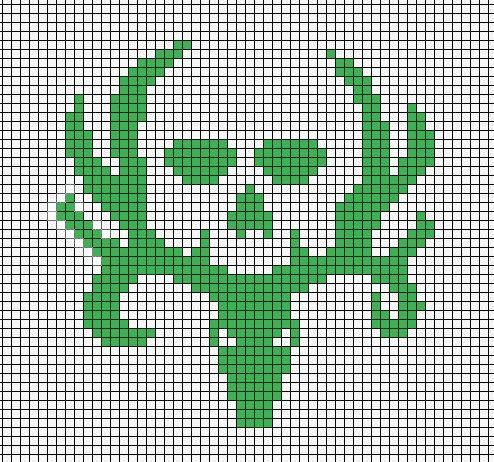 Bone Collector Perler Pattern Pattern This Pinterest