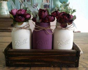 Decorative Mason Jars For Sale Large Mason Jar Centerpiece Table Centerpiece Table Decor
