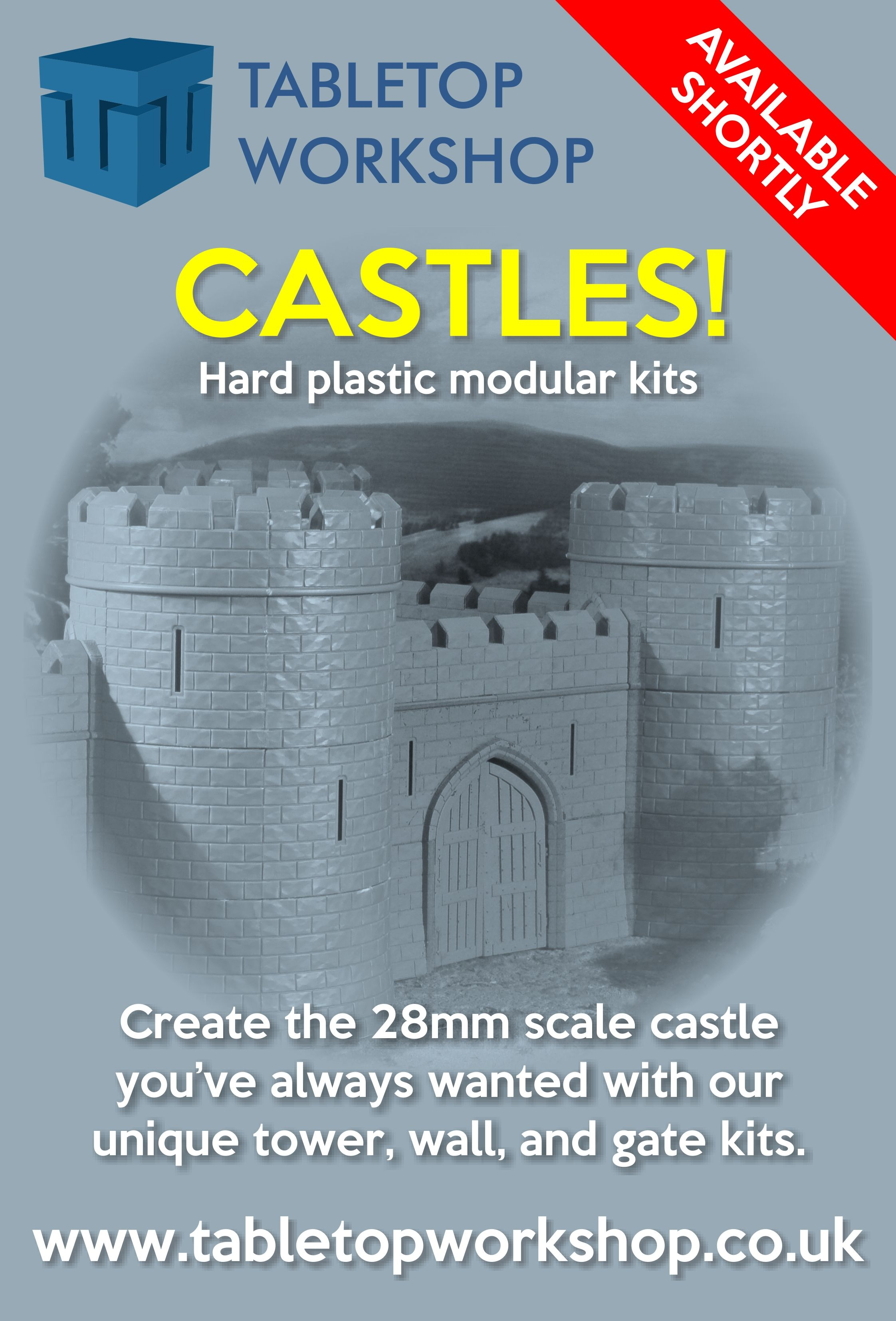 Create the 28mm Scale Castle you've always wanted with our