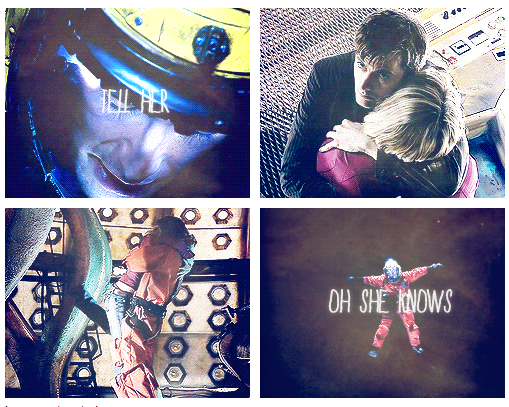 Another moment where I cried I love rose with the doctor