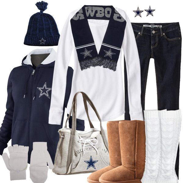Women's Dallas Cowboys Plaid Pashmina Scarf