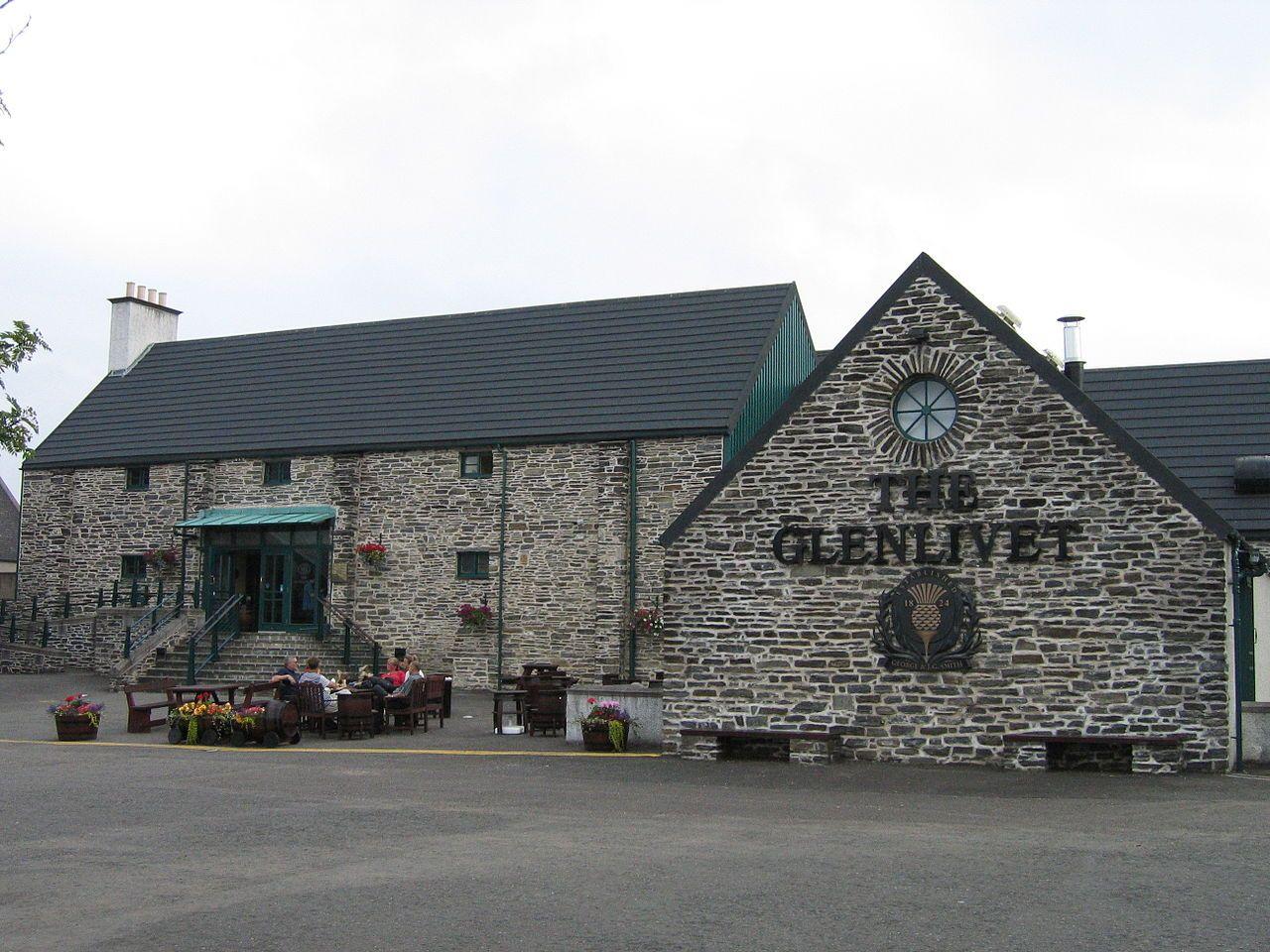'The Glenlivet' - the single malt whisky that started it all... Speyside, Moray - Scotland