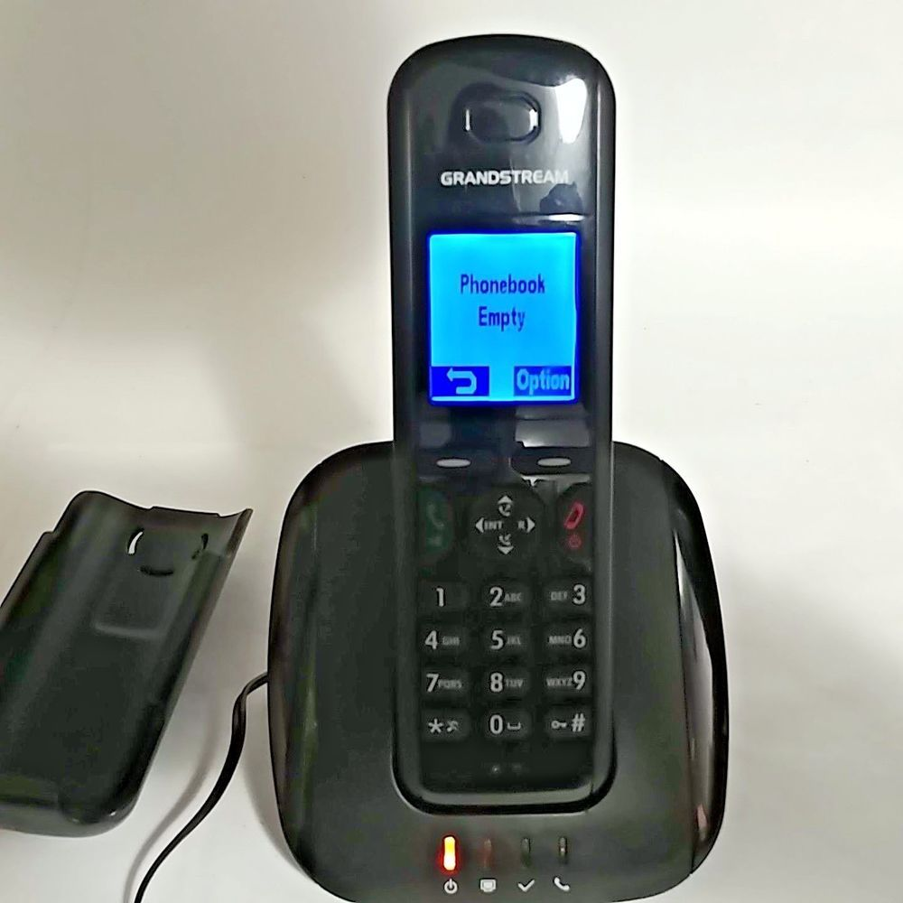 Working Grandstream DP715 VOIP DECT Cordless Phone Handset with