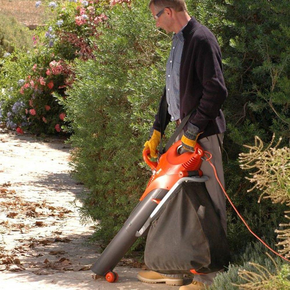 Flymo scirocco 3000 electric leaf blower garden vacuum
