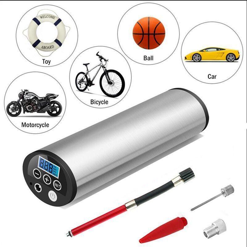 Universal Lcd 150psi 12v Air Compressor Auto Car Bike Electric