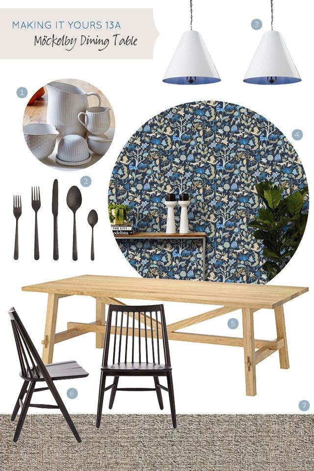 Making It Yours 13A IKEA Mockelby Dining Table