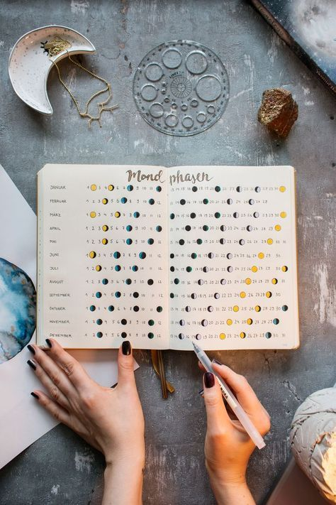 The ultimate Bullet Journal Setup 2018 (free printable + give away