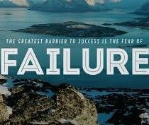 The importance of fear and failure for our modern society