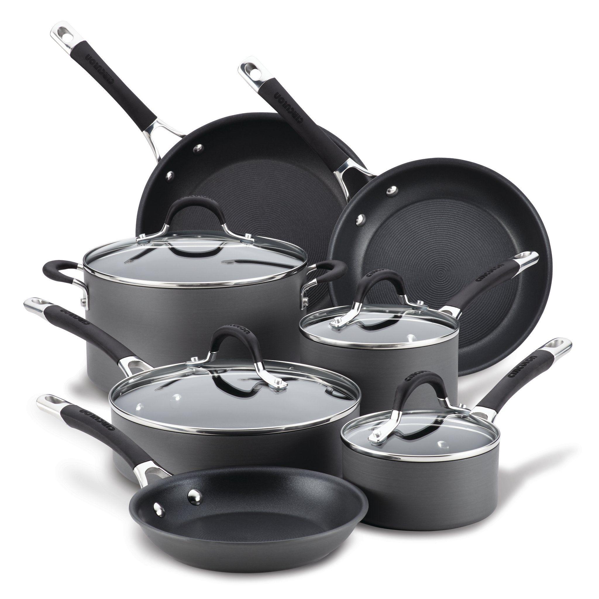 11 Piece Nonstick Cookware Set Cookware Set Dishwasher Safe Cookware Nonstick Cookware