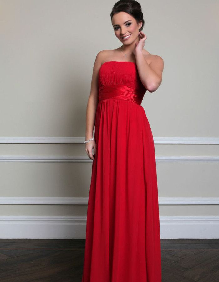 Red Bridesmaid Dresses Wed2b Google Search