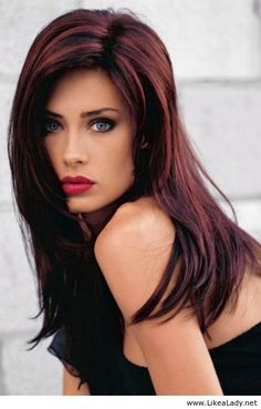 Por Hair Color Streaks For Brunettes Google Search