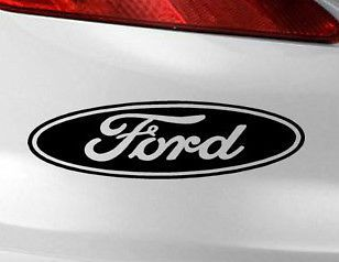 Ford Oval Logo Vinyl Decal Graphic Bumper Window Sticker Window