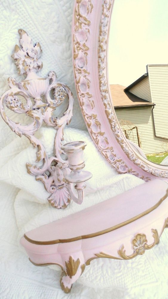 Pink Lot Rococo French Shabb