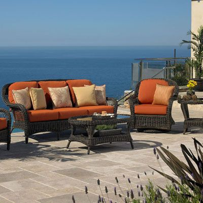 Awesome Wicker Patio Furniture | Balmoral Deep Seating Wicker Collection   American  Sale