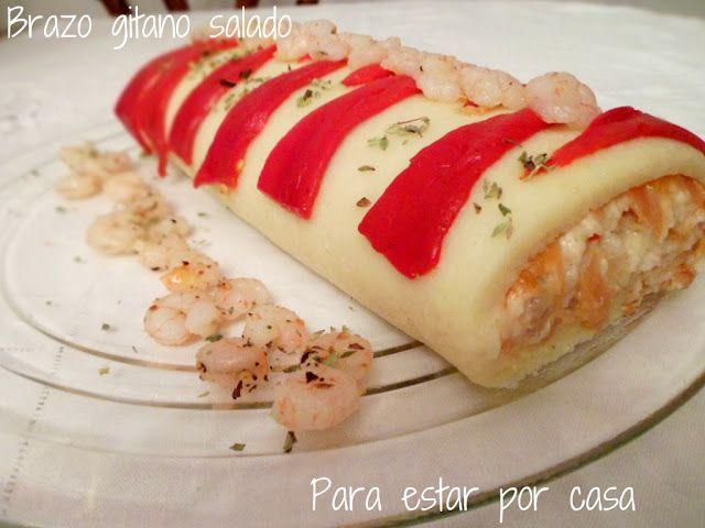 Descubre las recetas dulces y saladas de brazo de gitano que ha recopilado la autora del blog Olor a Hierbabuena. Te invitamos a visitar su Facebook https://www.facebook.com/pages/Olor-a-hierbabuena/372305662789361 para ver más recetas.