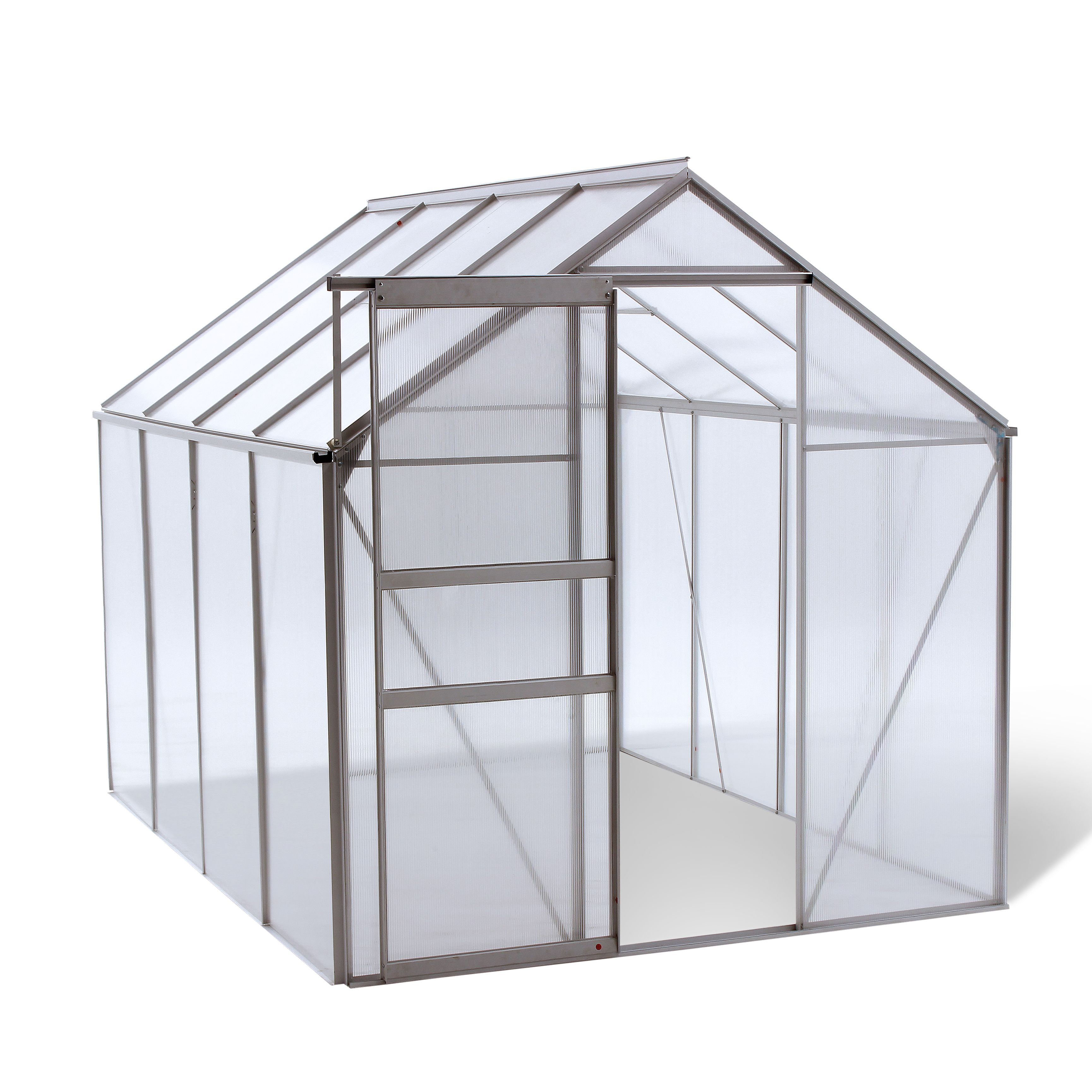 oGrow® Walk-IN 6\' X 8\' Lawn and Garden Greenhouse with Heavy Duty ...