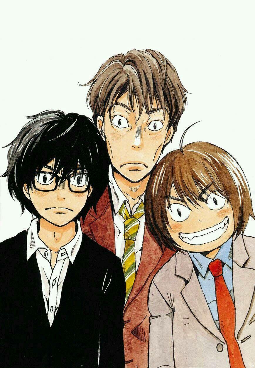 3gatsu no Lion Anime, Manga anime, Ilustrações