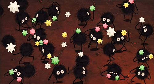 Screen Shot From Spirited Away Original Inspiration N N Spirited Away Soot Sprites Studio Ghibli Spirited Away Ghibli Tattoo