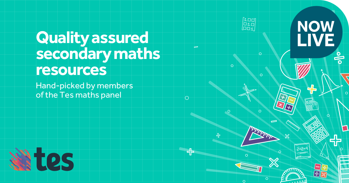 KS3 and KS4 secondary maths resources for every topic taught in Year ...