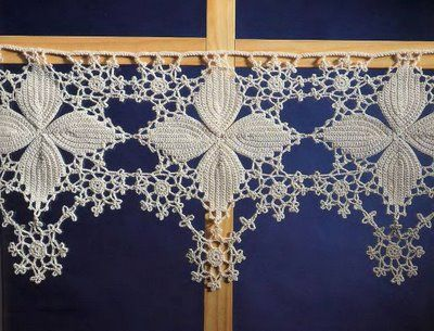 Pizzo Irlandese Crocheting Crochet Lace Crochet E Crochet Needles