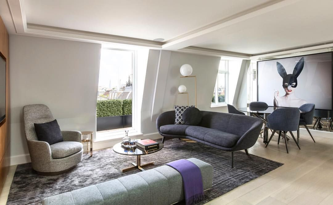 Pt 2 3 Mayfair Penthouse By Mrpellizzoni Open Livingroom And