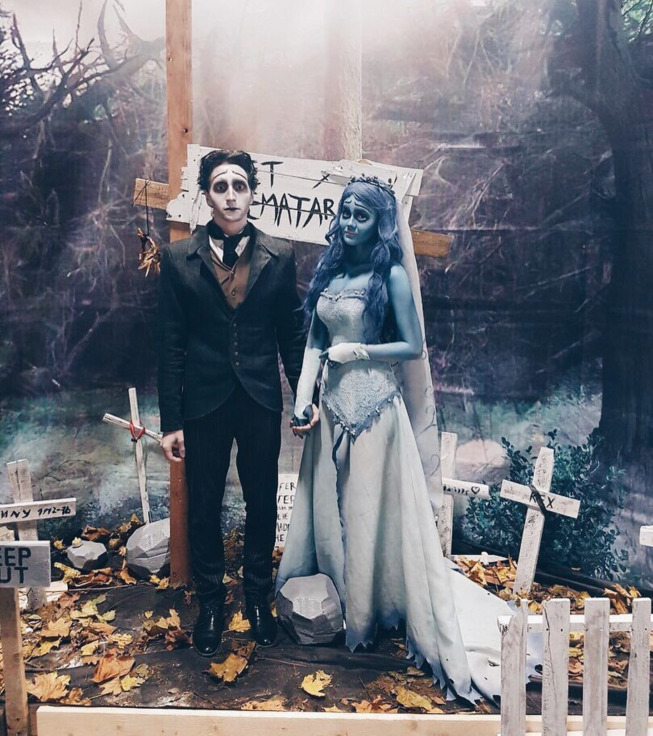 Декоры своими руками для хэллоуина