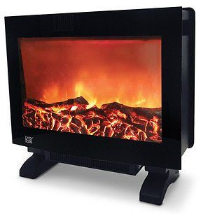 Easy Home Flame Effect Heater Slim Design With A Glass Front Panel Coupons Discounts Electric Fireplace Insert Local Deals Fireplace Inserts