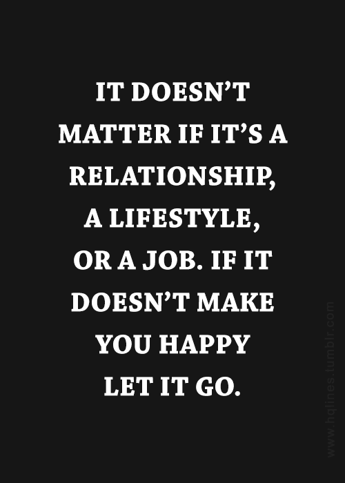 what make you happy in a relationship