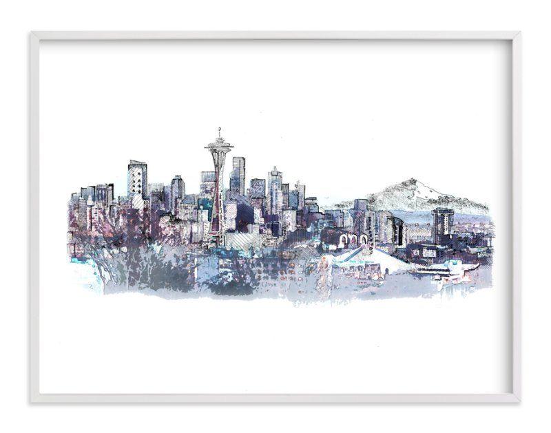 Seattle Skyline\