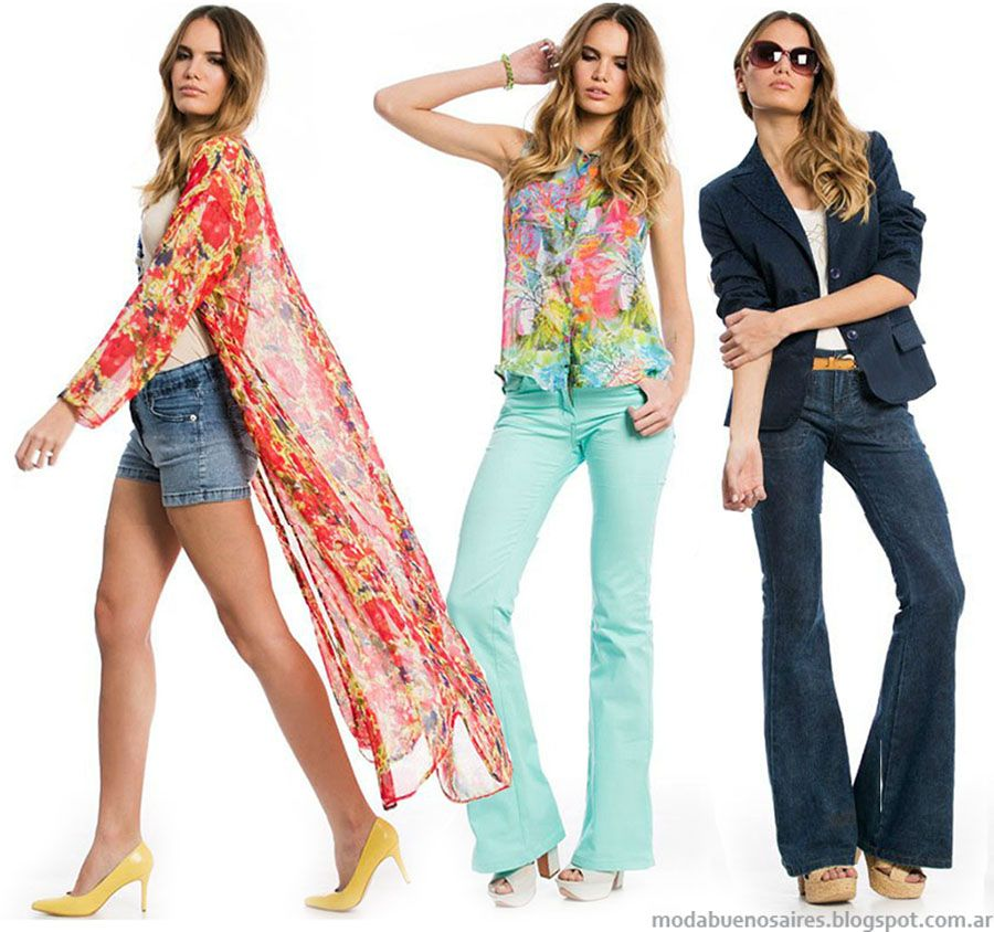 1d32ed19c Moda 2016 City Argentina ropa de moda primavera verano 2016.