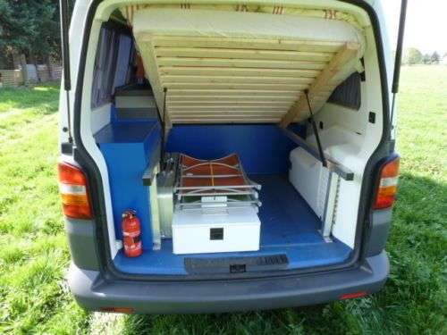 vw t5 campingbus camper mieten privat g nstig mit versicherung in brandenburg schlieben. Black Bedroom Furniture Sets. Home Design Ideas