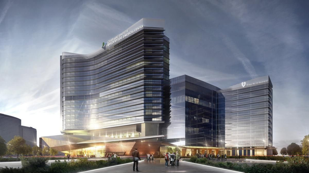 Baylor College Of Medicine Chi St Luke S Health To Build Second Tower At Mcnair Campus Houston Business Journal Campus Texas Medical Center Medicine